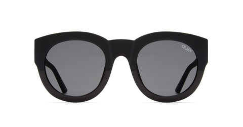 Quay Australia Sunglasses If Only - Black / Smoke