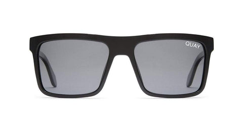 Quay Australia Sunglasses Let it Run - Black / Smoke