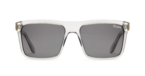Quay Australia Sunglasses Let it Run - Grey / Smoke