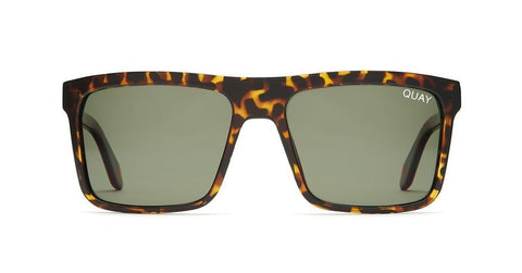 Quay Australia Sunglasses Let it Run - Tort / Green