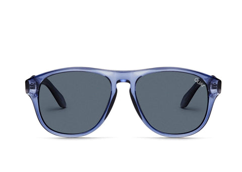 Quay Australia Sunglasses Lost Weekend - Blue / Navy Lens
