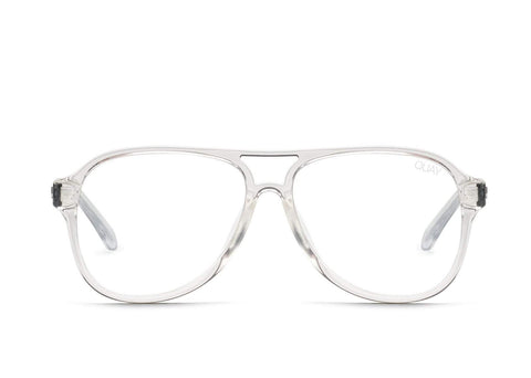 Quay Australia Sunglasses Magnetic - Clear / Clear Blue Light