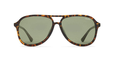 Quay Australia Sunglasses Magnetic - Tort / Green