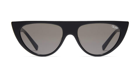 Quay Australia Sunglasses Run Away - Black / Smoke