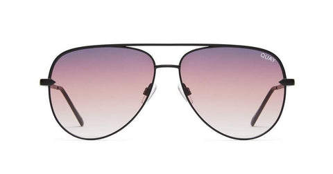 Quay Australia Sunglasses Sahara - Black / Purple Fade
