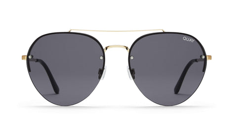Quay Australia Sunglasses Somerset - Gold / Smoke