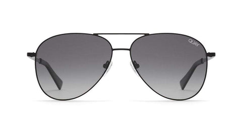 Quay Australia Sunglasses Still Standing - Black / Smoke