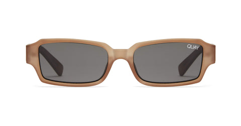 Quay Australia Sunglasses Strange Love - Brown / Smoke