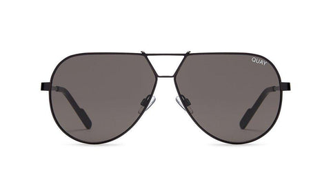 Quay Australia Sunglasses Supernova - Black / Smoke