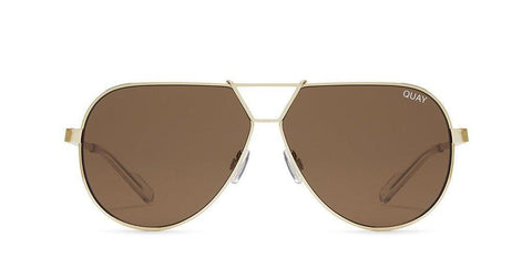 Quay Australia Sunglasses Supernova - Gold / Brown