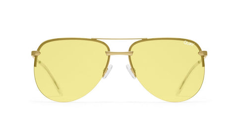 The Playa - Gold / Yellow Lens