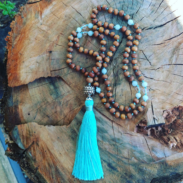 Indian Turquoise Beauty Mala