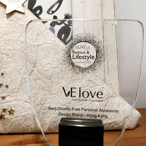 Our first award - The Best Cruelty-Free design brand in HK