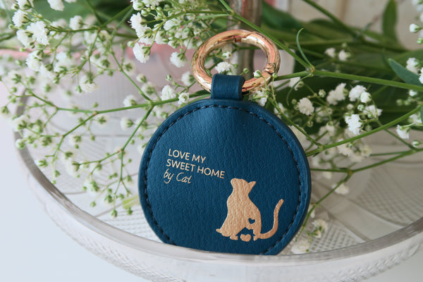 Mixy Animal Personalized Keyring - Moonlight