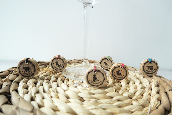 Your Own Wine Cork Animal Necklace