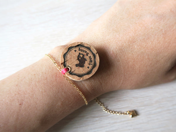 Your Own Wine Cork Animal Bracelet