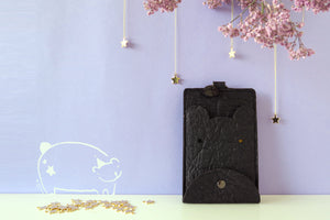Light me up! Stars Animal Card Holder & Coin Bag - Bear - VElove