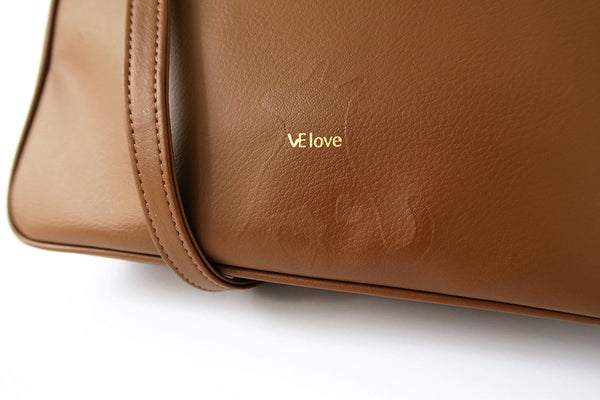 Love my sweet home - Dog V Shape Hazelnut Cross Body - VElove