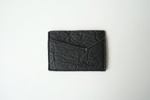 Pinatex Keir Card Holder - Black