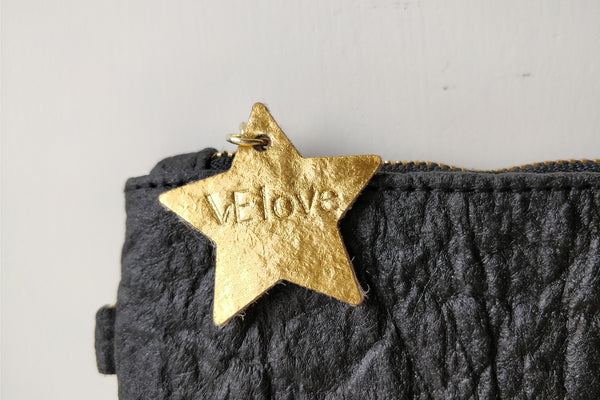 Light me up! Stars Animal Clutch - Black - VElove