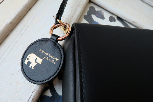 Mixy Animal Personalized Cross Body - Black