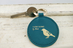 Mixy Animal Personalized Keyring - Blue-Green - VElove