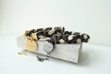 Pinatex Amber Animal Bracelet - Mix Color / Black - VElove