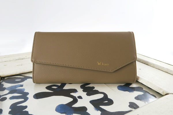 VElove Rabbit Wallet - Mud Brown - VElove
