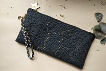 Light me up! Stars Rabbit Clutch - Black (NEW) - VElove