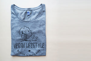 Be kind to every kind - Fair trade certified organic women tee - VElove