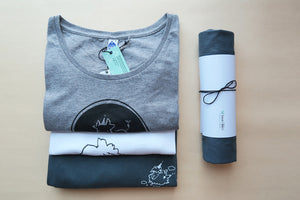 "Dear Sheep ""Day dreaming with you"" - Fair trade certified organic women tee - VElove"