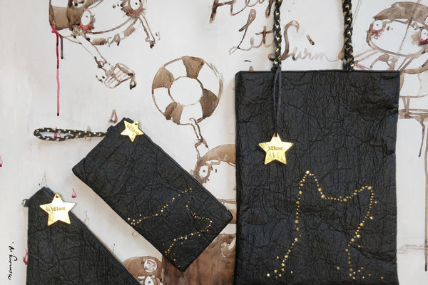 Light me up! Stars Animal Clutch - Black