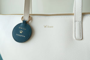 Mixy Animal Personalized Keyring - Black - VElove