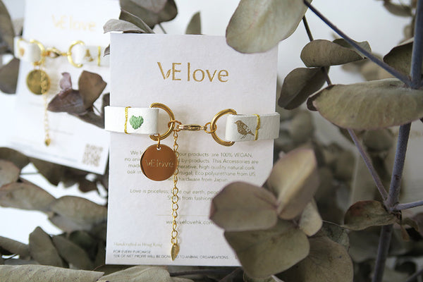 "VElove Bird Bracelet ""Love nature"" - VElove"