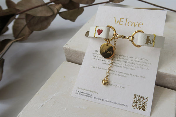 "VElove Cat Bracelet ""Love my Sweet Home"" - VElove"