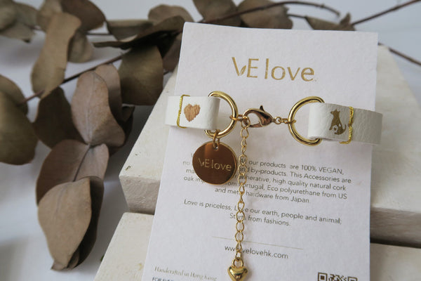 "VElove Dog Bracelet ""Love my Sweet Home"" - VElove"