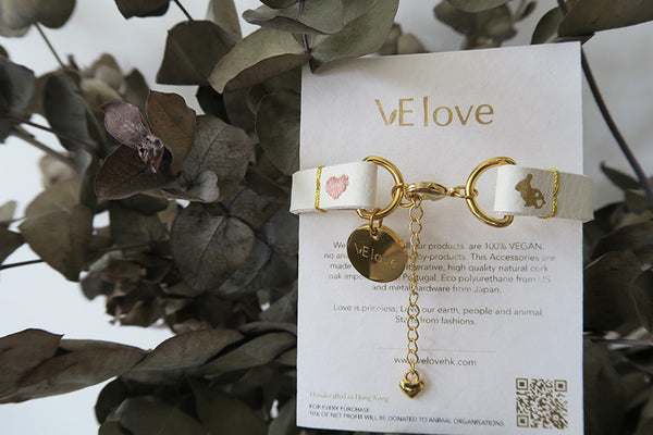 "VElove Rabbit Bracelet ""Love me, no hurt"" - VElove"