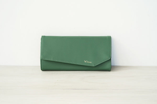 VElove Cat Wallet - Mint Green - VElove