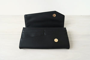 VElove Cat & Moon Bear Wallet - Black - VElove
