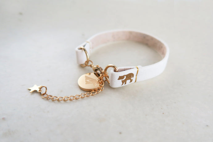 Moon Bear Freedom, The Best Kind White Bracelet - VElove