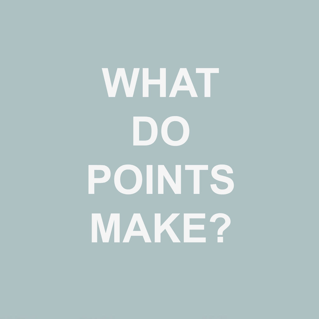 What Do Points Make?