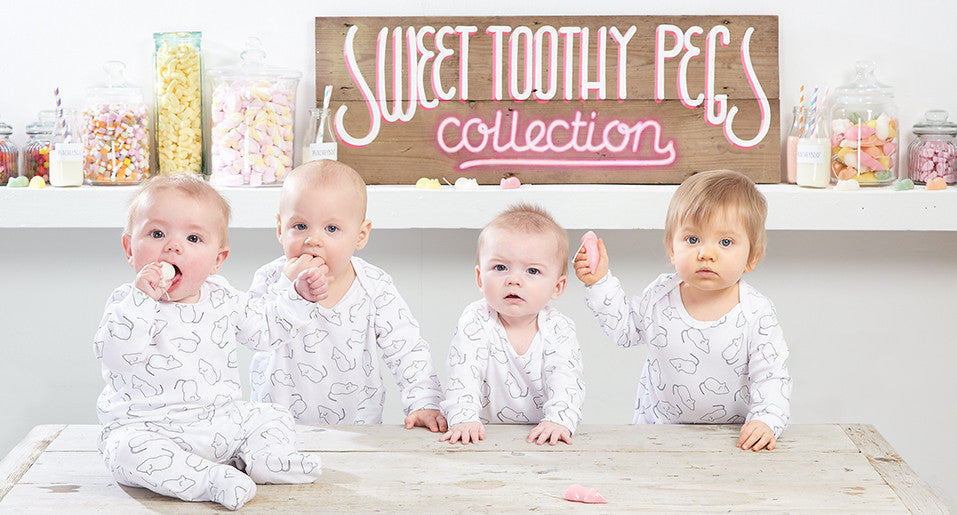 Yummy delicious baby clothing from Peacheyboo!