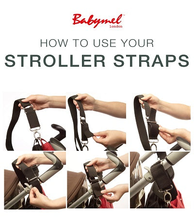 How To Use Your Babymel Stroller Straps