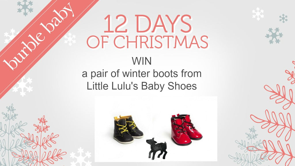WIN a designer pair of Baby Shoes for Christmas!