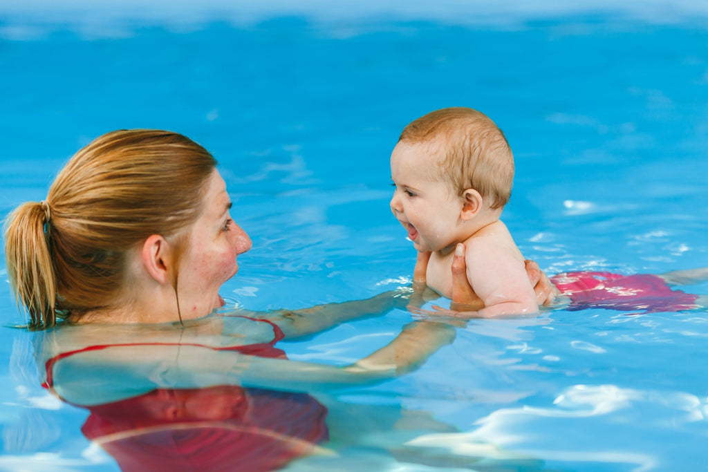 The 4 Essential Life Skills Babies Can Learn from Swimming Lessons