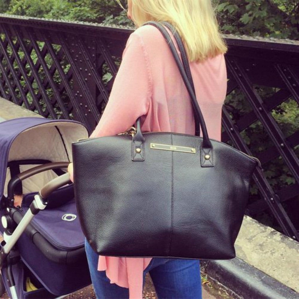 Born in Britain Luxury Changing Bags Land at Burble Baby