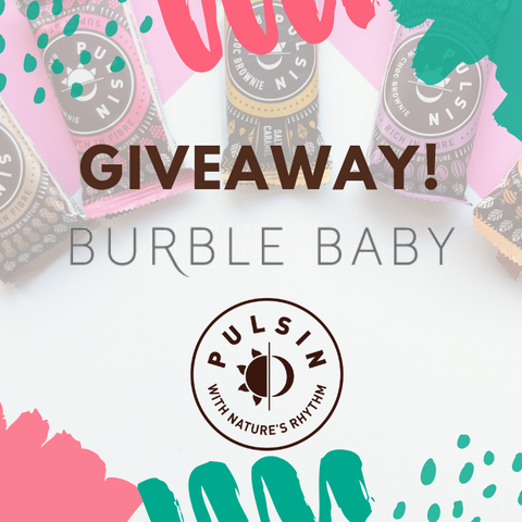 Pulsin Burble Baby giveaway