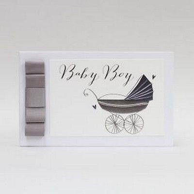 "Baby Boy Photo Album 6 x 4"" - Burble Baby"