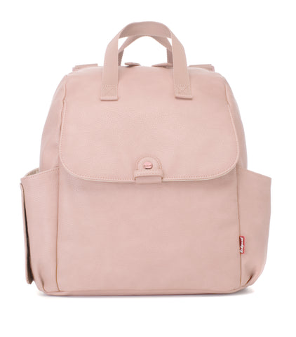 Babymel Robyn Convertible Backpack Vegan Leather Blush