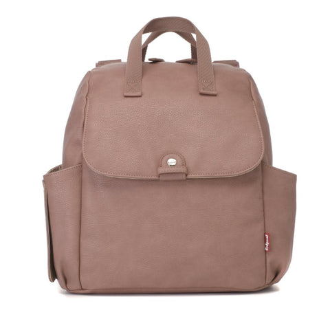 Babymel Robyn Convertible Backpack Faux Leather Dusky Pink
